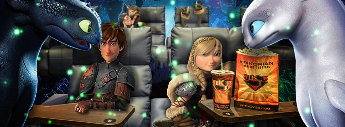 How To Train Your Dragon Characters at Krikorian Slider Image