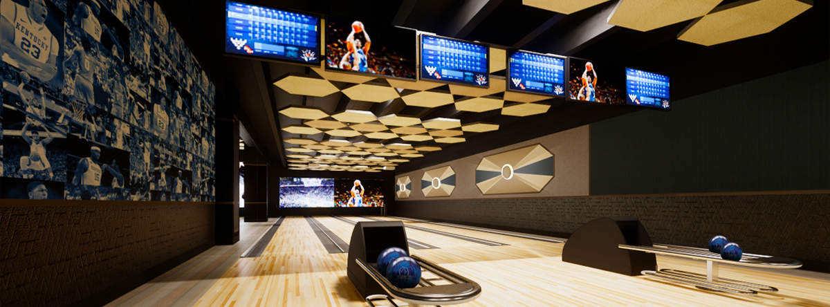RENDERING OF VIP BOWLING LEXINGTON KY