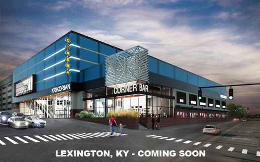 EXTERIOR RENDERING OF THE LEXINGTON LOCATION COMING SOON