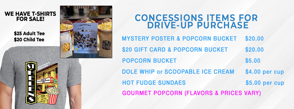 Concessions Items