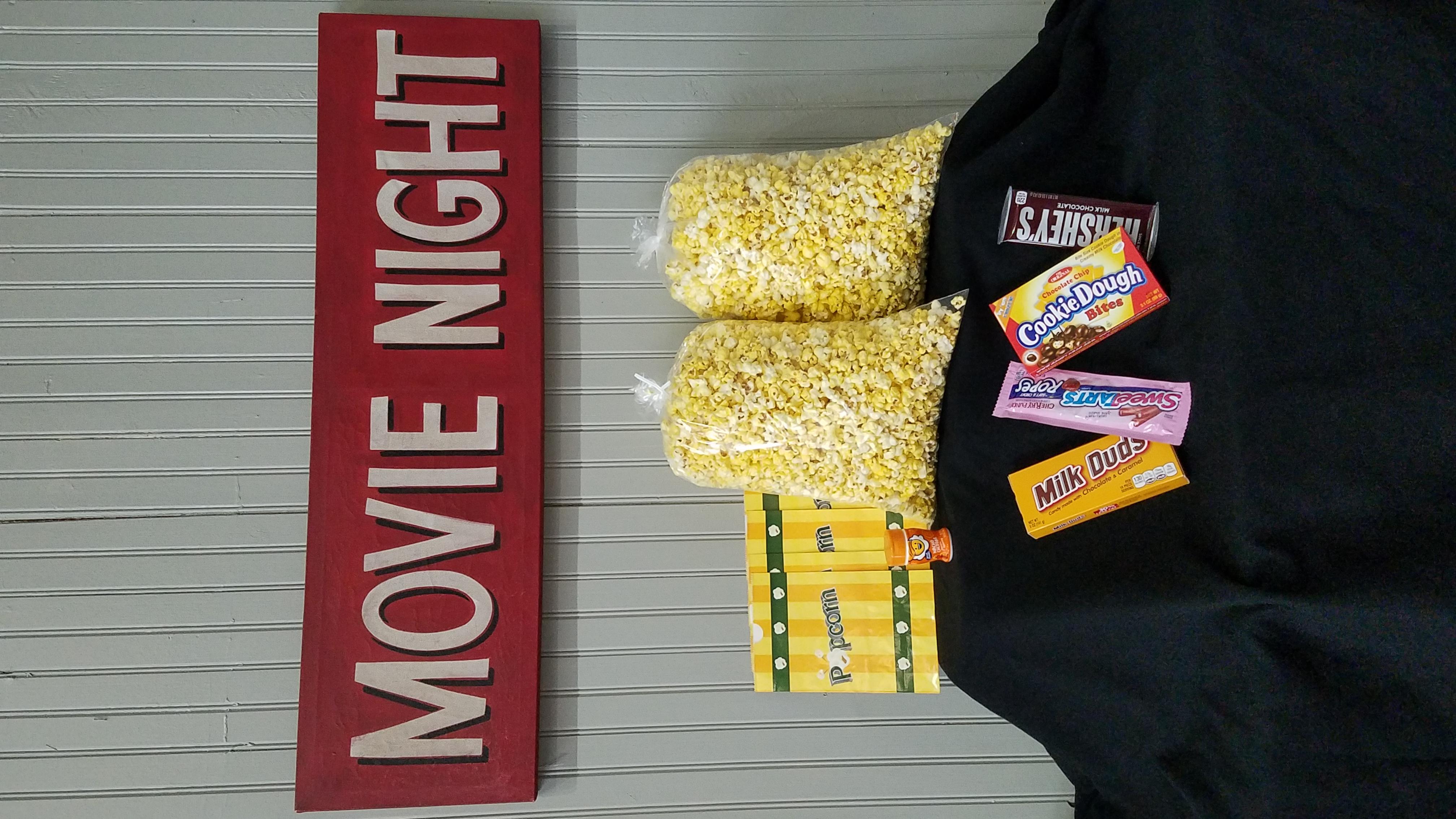 Basic movie lover snack pack