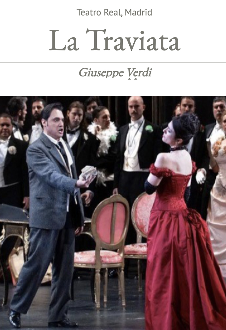 Teatro Real: La Traviata