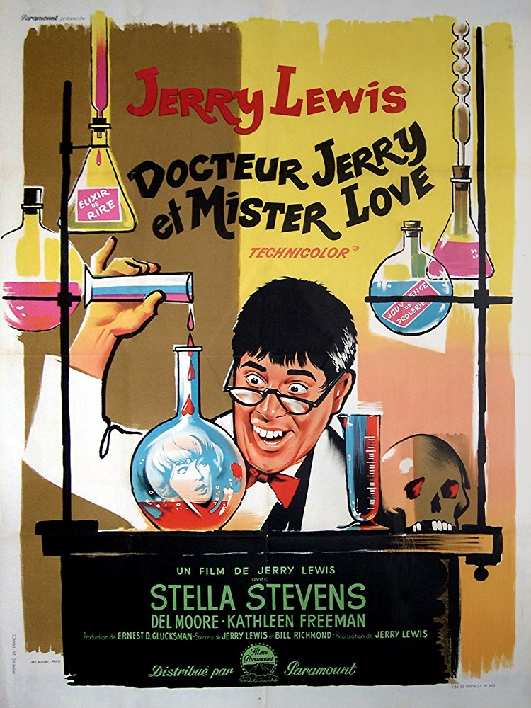 Poster for The Nutty Professor (1963)
