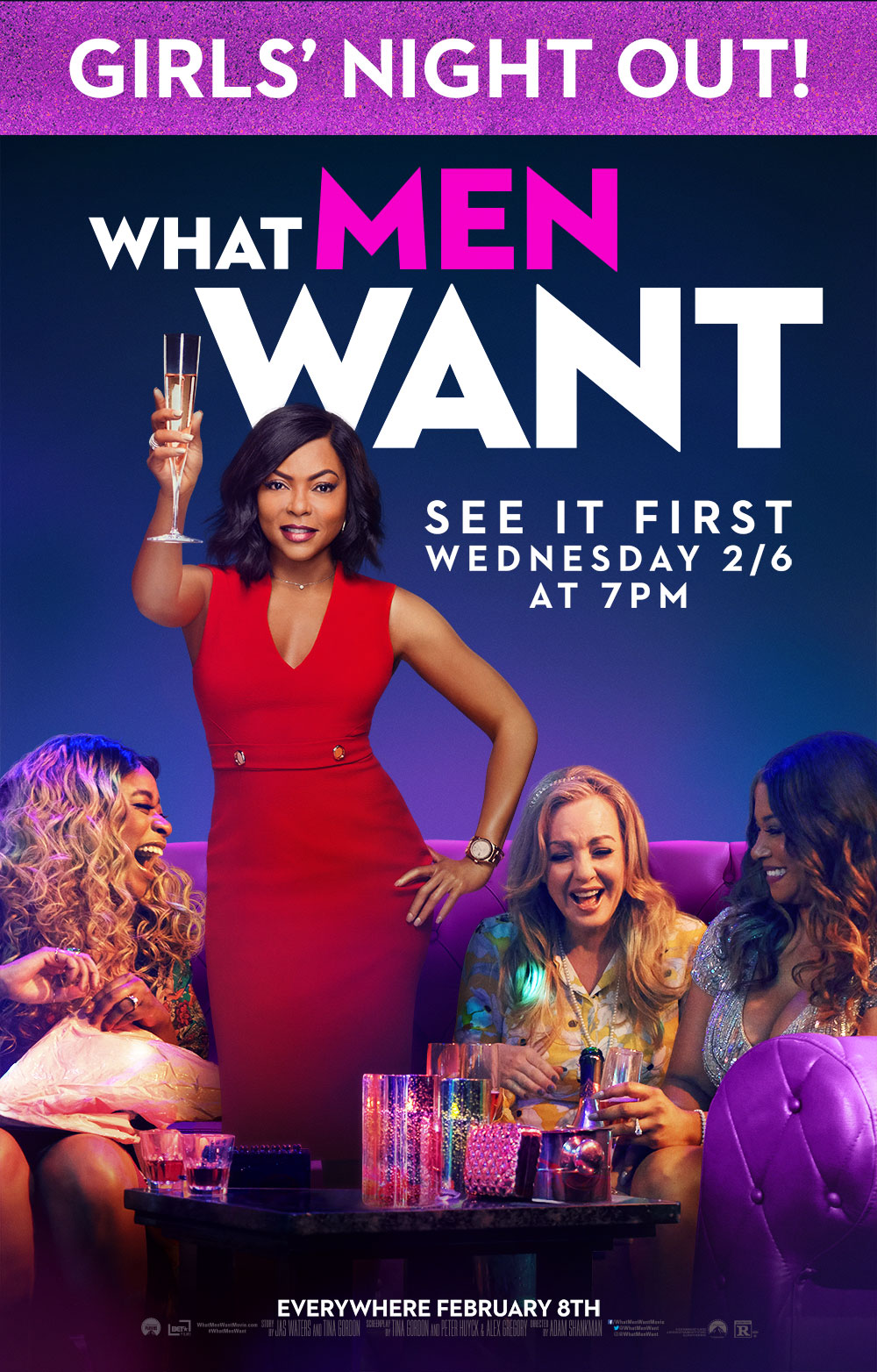 Poster of What Men Want - Girls' Night Out