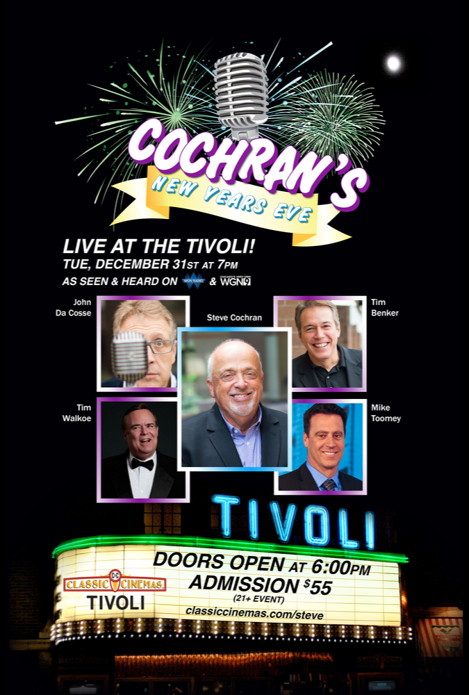 Poster for Steve Cochran New Year's (St)EVE