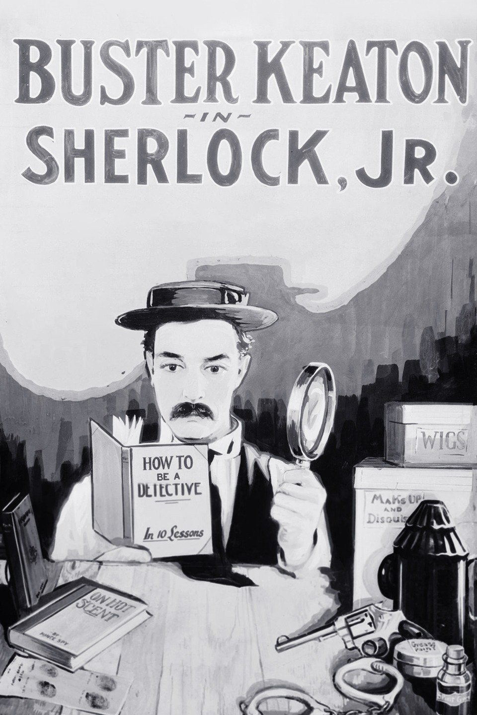 Poster for Sherlock Jr. (1924)