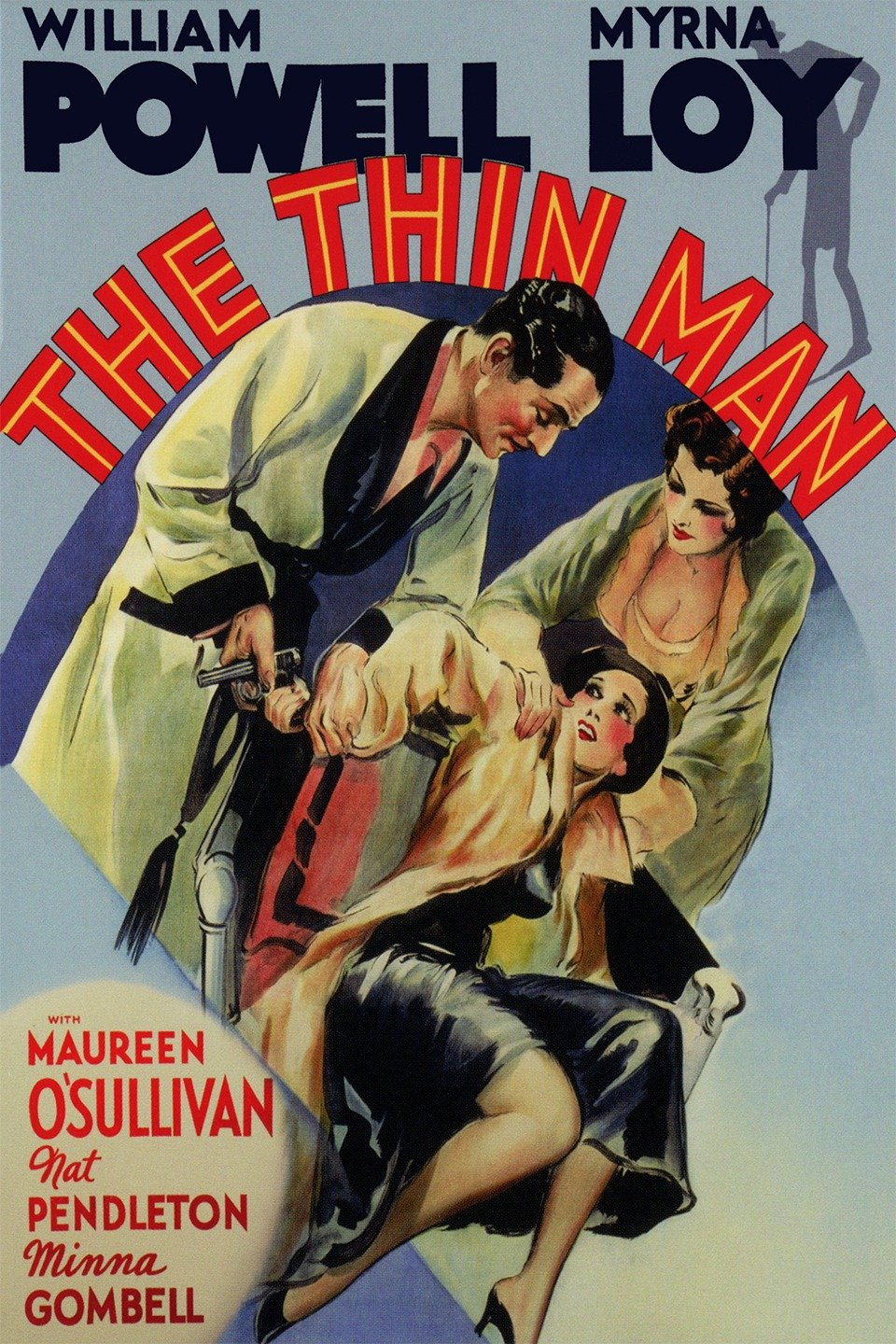 Poster for The Thin Man (1934)