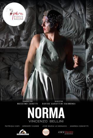Opéra Royal de Wallonie: Norma Poster