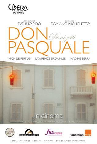 Opéra national de Paris: Don Pasquale Poster