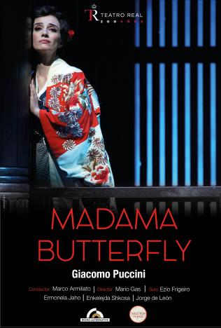 Teatro Real: Madama Butterfly Poster