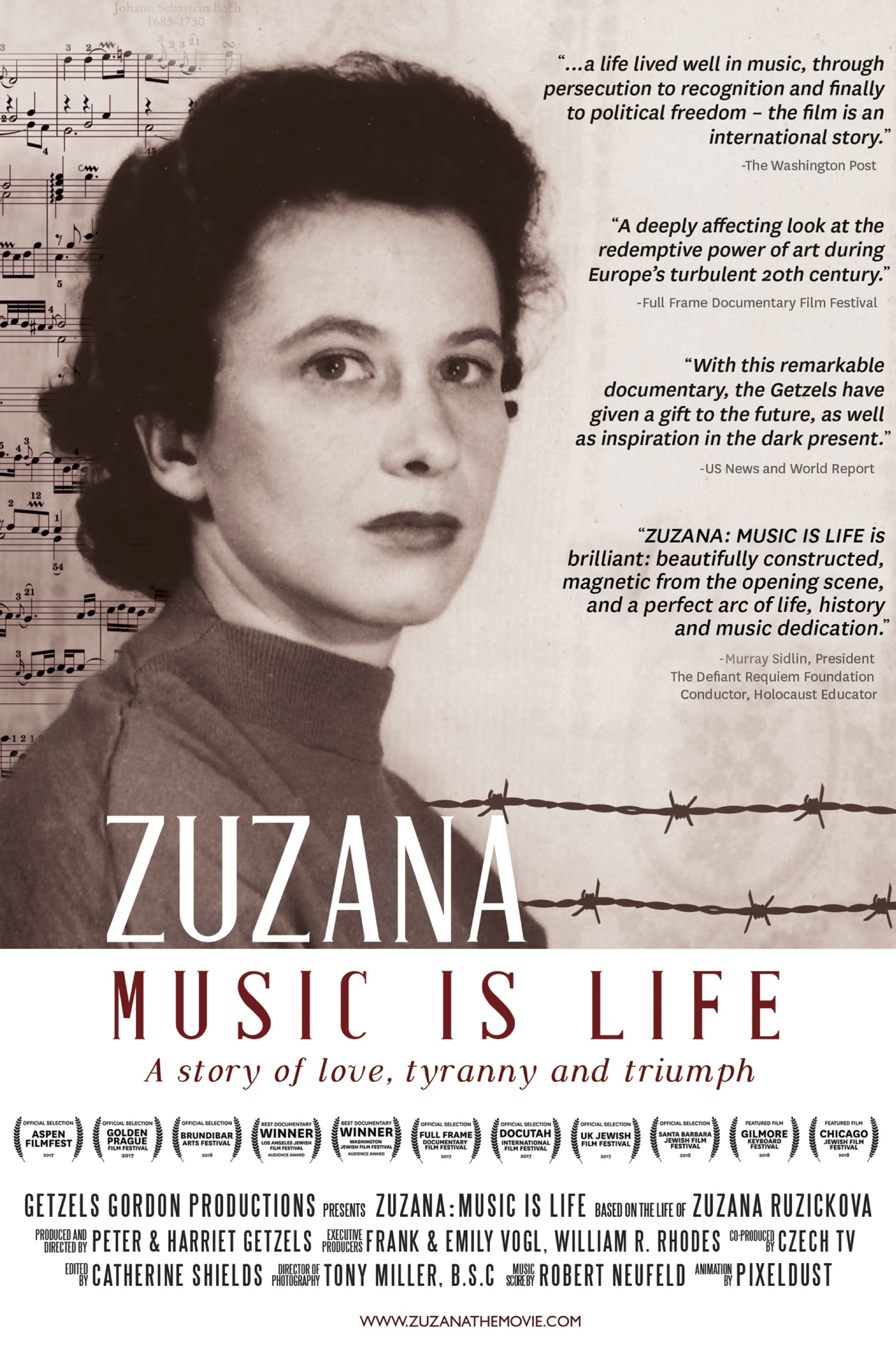 Zuzana: Music is Life - ONE NIGHT ONLY Poster