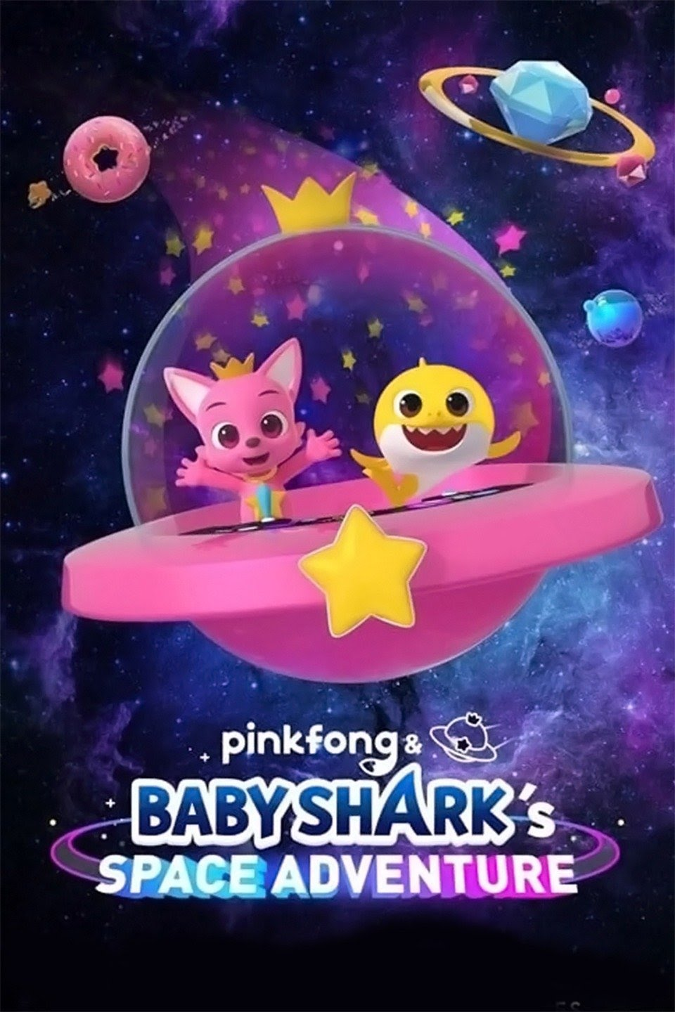 Pinkfong and Baby Sharks Space Adventure poster