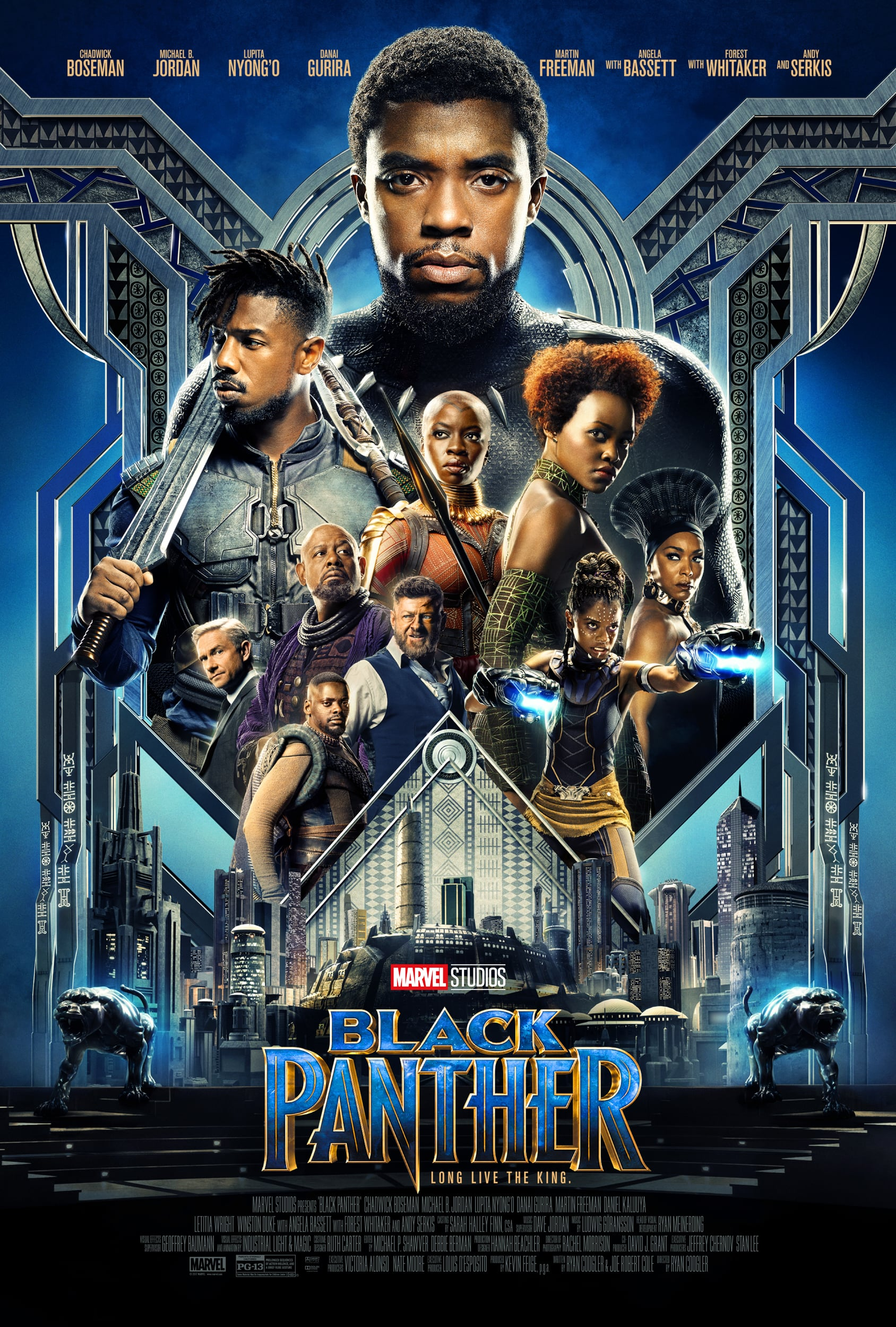 Poster for Black Panther  * SPECIAL $5 FEATURE * ONE WEEK ONLY ENGAGEMENT
