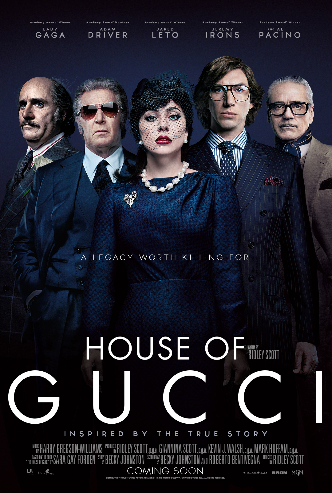Poster for House of Gucci