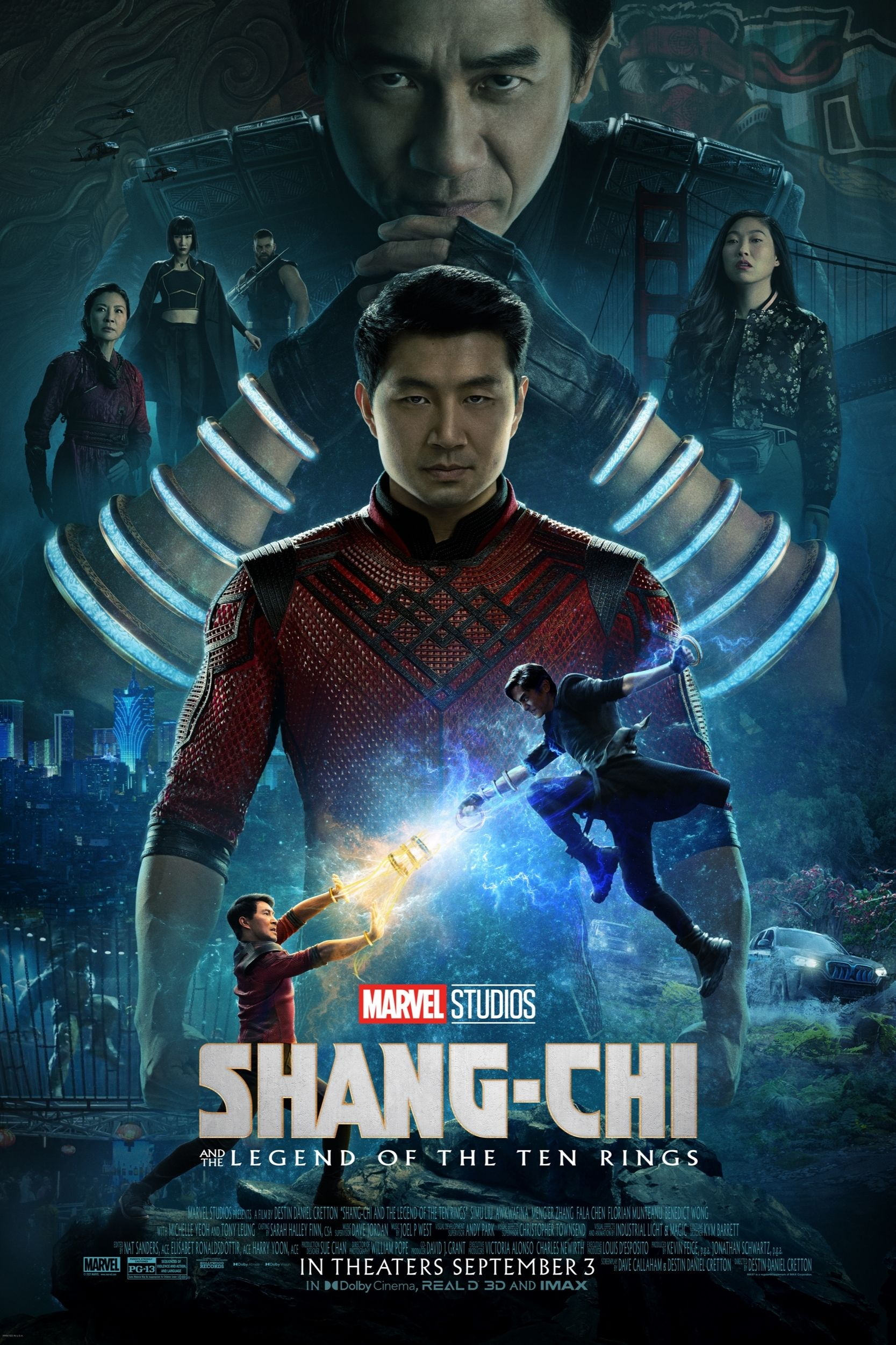 Poster of Shang-Chi and the Legend of the Ten R...