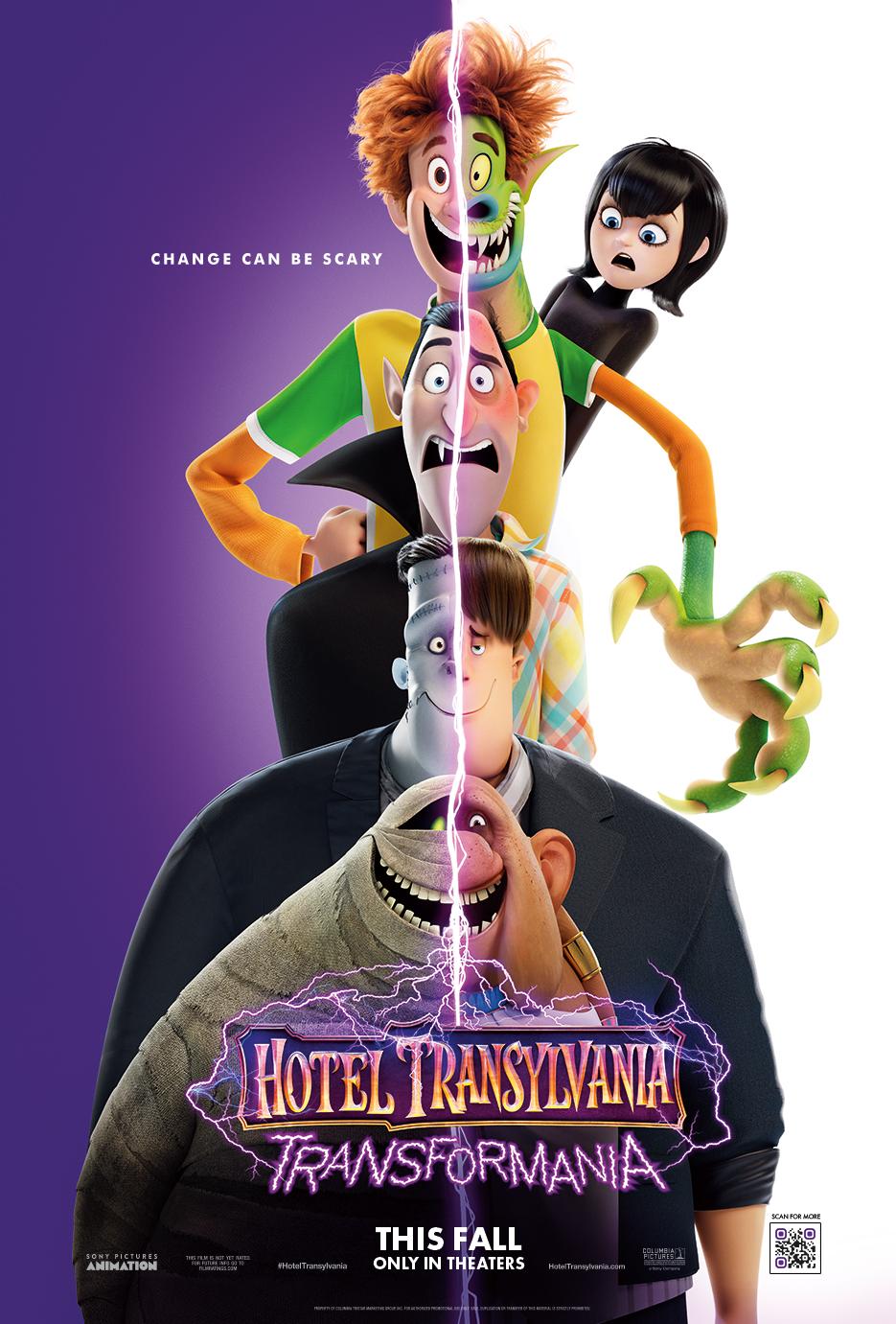 Poster of Hotel Transylvania: Transformania