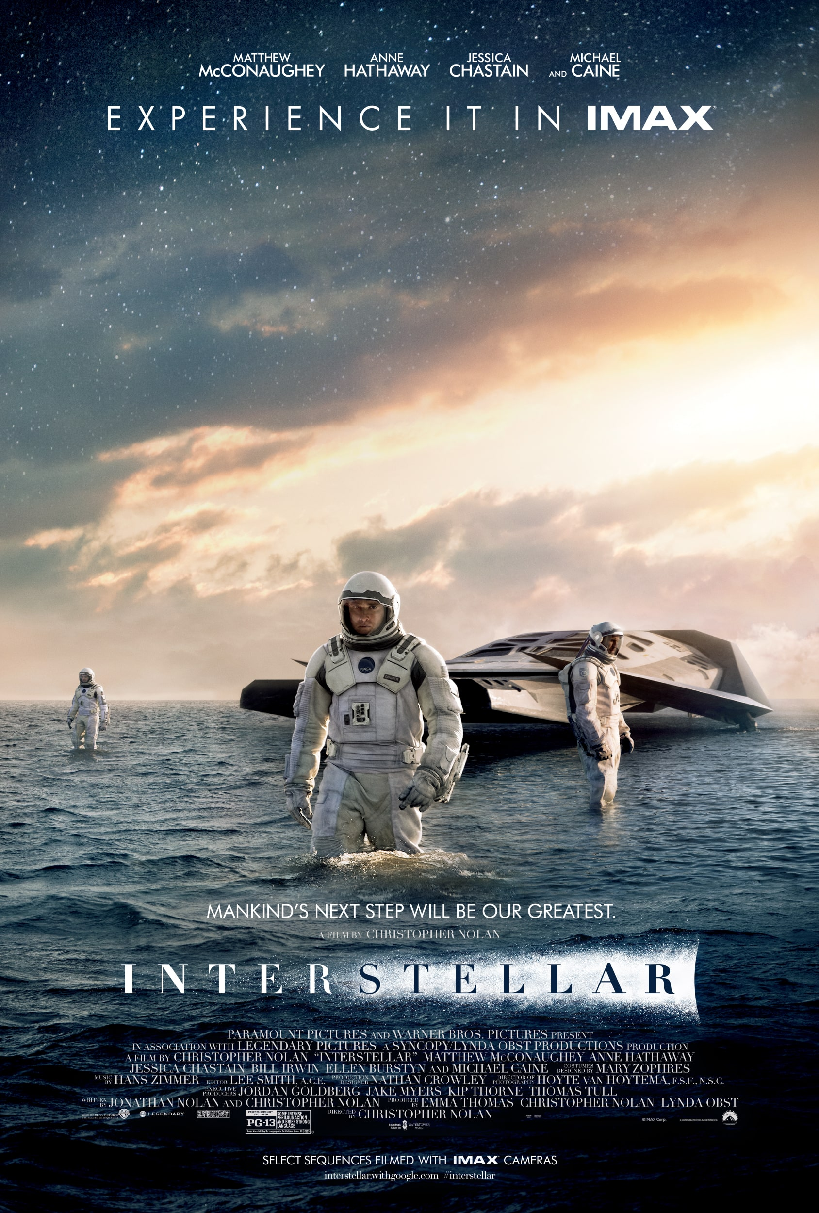 Poster of Interstellar: The IMAX 2D Experience ...