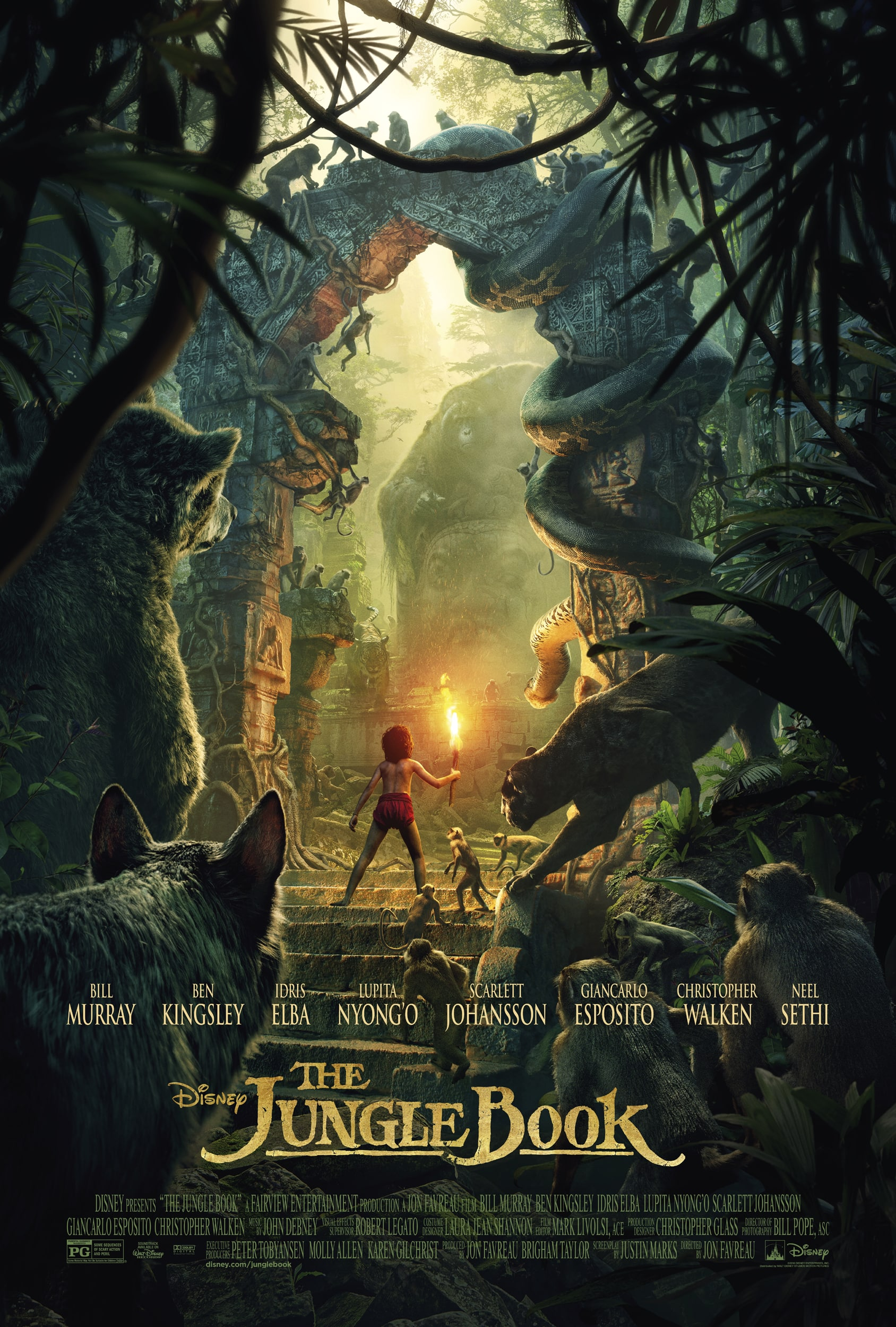 Poster of The Jungle Book * SPECIAL $5 FEATURE ...