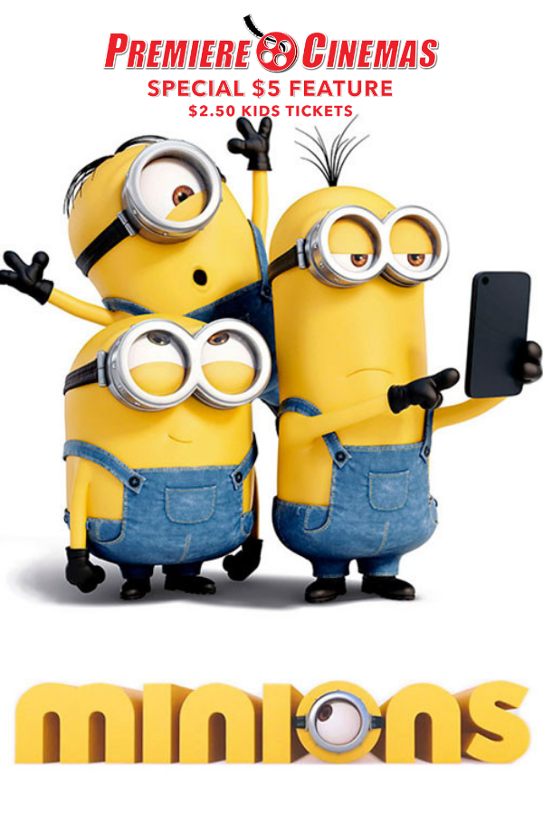 Poster of Minions * SPECIAL $5 FEATURE *