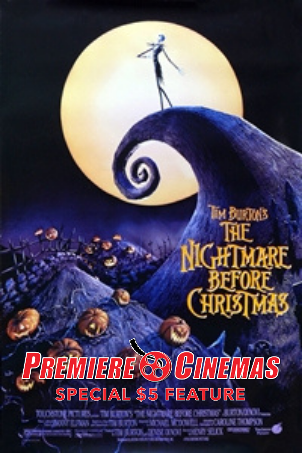 Poster for Nightmare Before Christmas *SPECIAL $5 FEATURE*