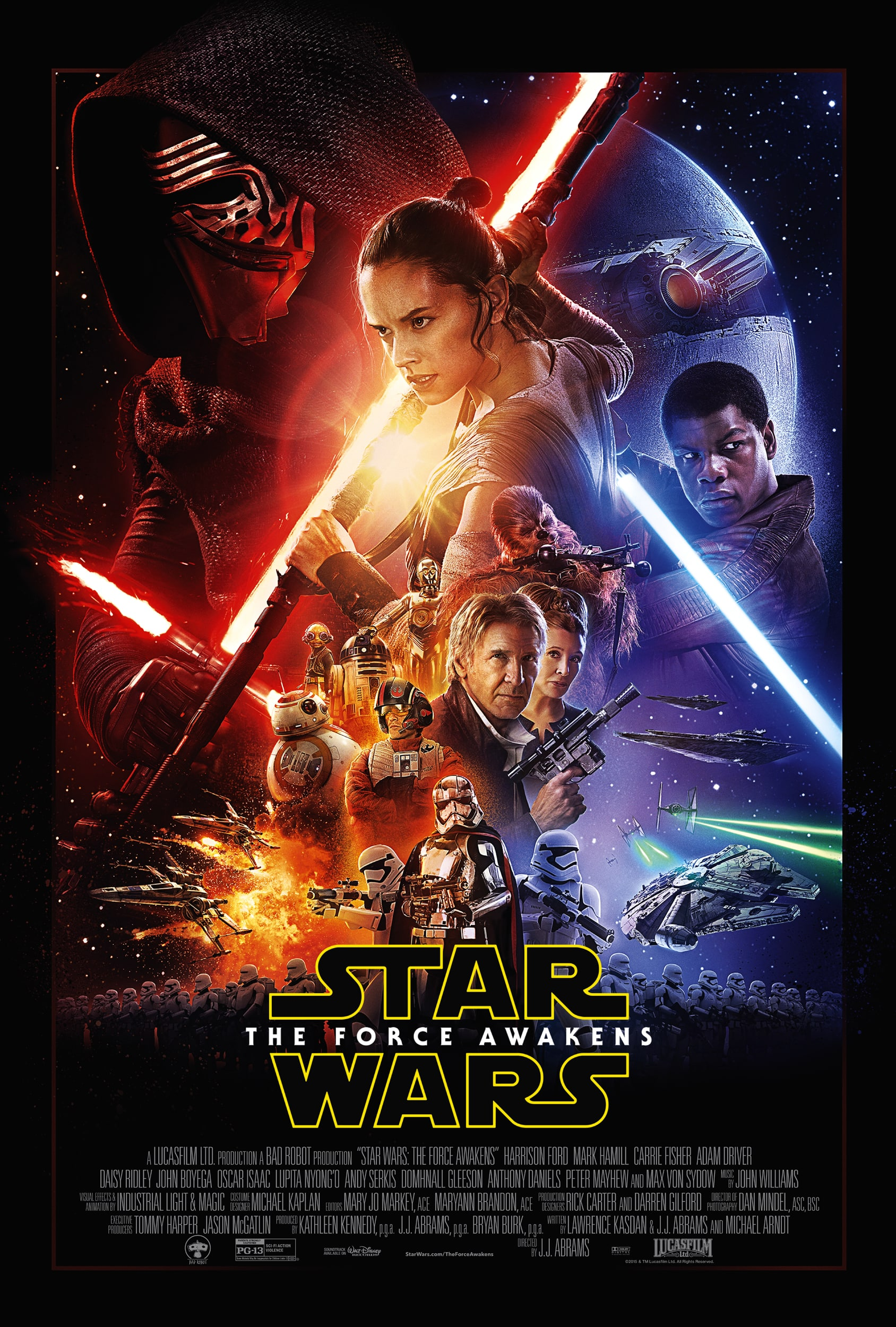 Poster of Star Wars: The Force Awakens * SPECIA...