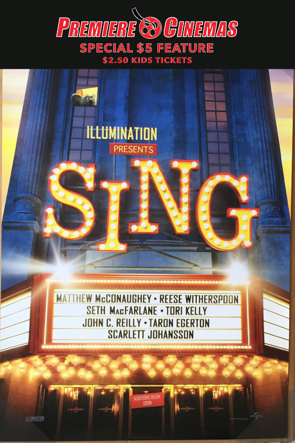 Poster for Sing * SPECIAL $5 FEATURE *