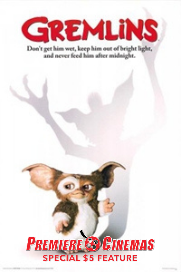 Poster for Gremlins (1984) * SPECIAL $5 FEATURE *