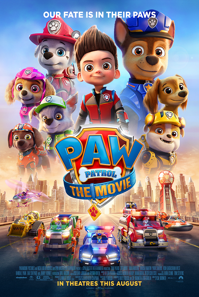 Poster of Paw Patrol: The Movie