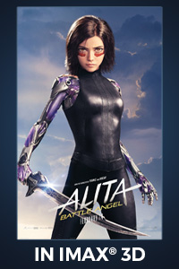 Poster of Alita: Battle Angel - The IMAX 3D Exp...