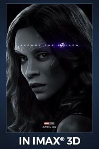 Poster of Avengers: Endgame - An IMAX 3D Experience