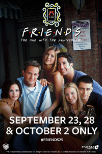 Poster of Friends 25th: The One With The Anniversary