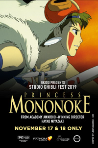 Poster of Princess Mononoke - Studio Ghibli Fest 2019