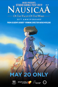 Poster of Nausicaä of the Valley of the Wind - Studio Ghibli Fest 2019