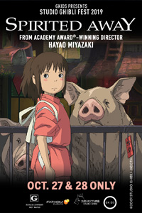 Poster of Spirited Away - Studio Ghibli Fest 2019