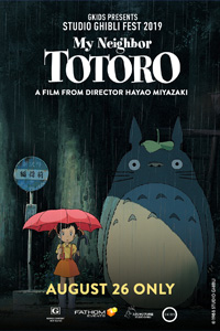 Poster of My Neighbor Totoro - Studio Ghibli Fest 2019