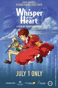 Poster of Whisper of the Heart - Studio Ghibli Fest 2019