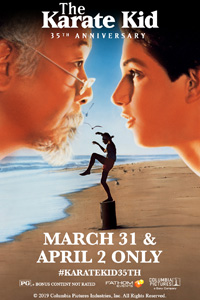 Poster of The Karate Kid 35th Anniversary
