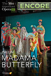 Poster of The Metropolitan Opera: Madama Butterfly ENCORE
