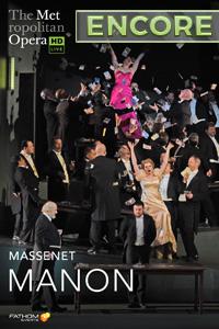 Poster of The Metropolitan Opera: Manon ENCORE