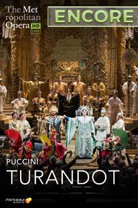 Poster of The Metropolitan Opera: Turandot ENCO...