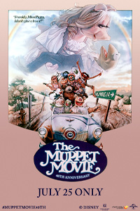 Poster of The Muppet Movie 40th Anniversary
