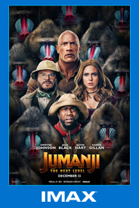 Poster of Jumanji: The Next Level - The IMAX 2D...