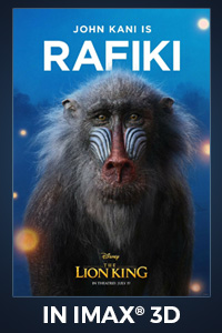 Poster of The Lion King - An IMAX 3D Experience