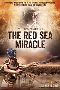 Poster of Patterns of Evidence: The Red Sea Mir...