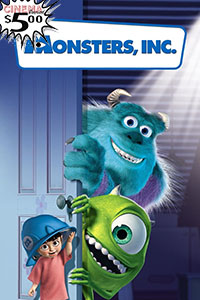 Poster ofMonsters, Inc.