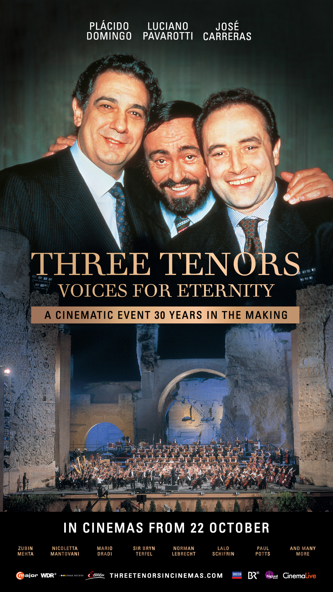 Poster of Three Tenors Voices to Eternity