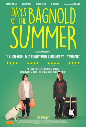 Poster of BFF Days of the Bagnold Summer