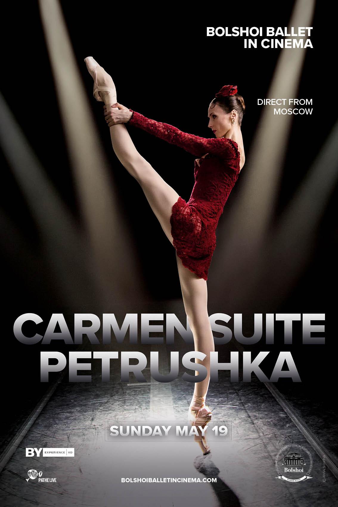 Bolshoi Ballet: Carmen Suite / Petrushka Poster
