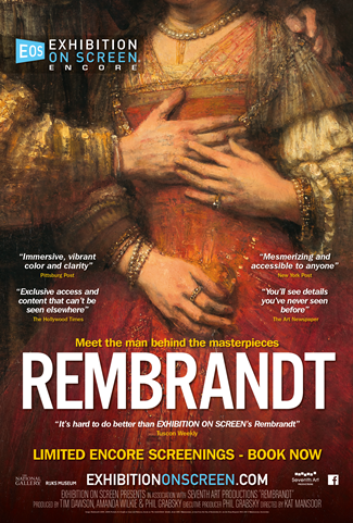 Exhibition on Screen: Rembrandt Poster