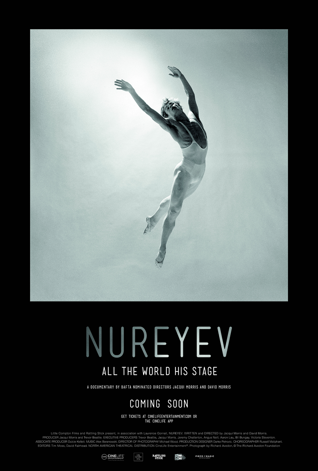 Nureyev: Lifting the Curtain Poster